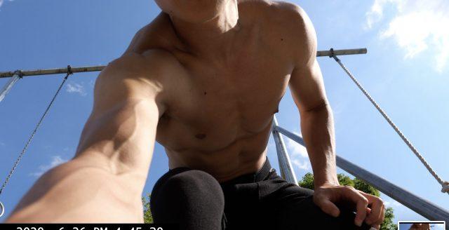 Selfie ERIC KIM muscle