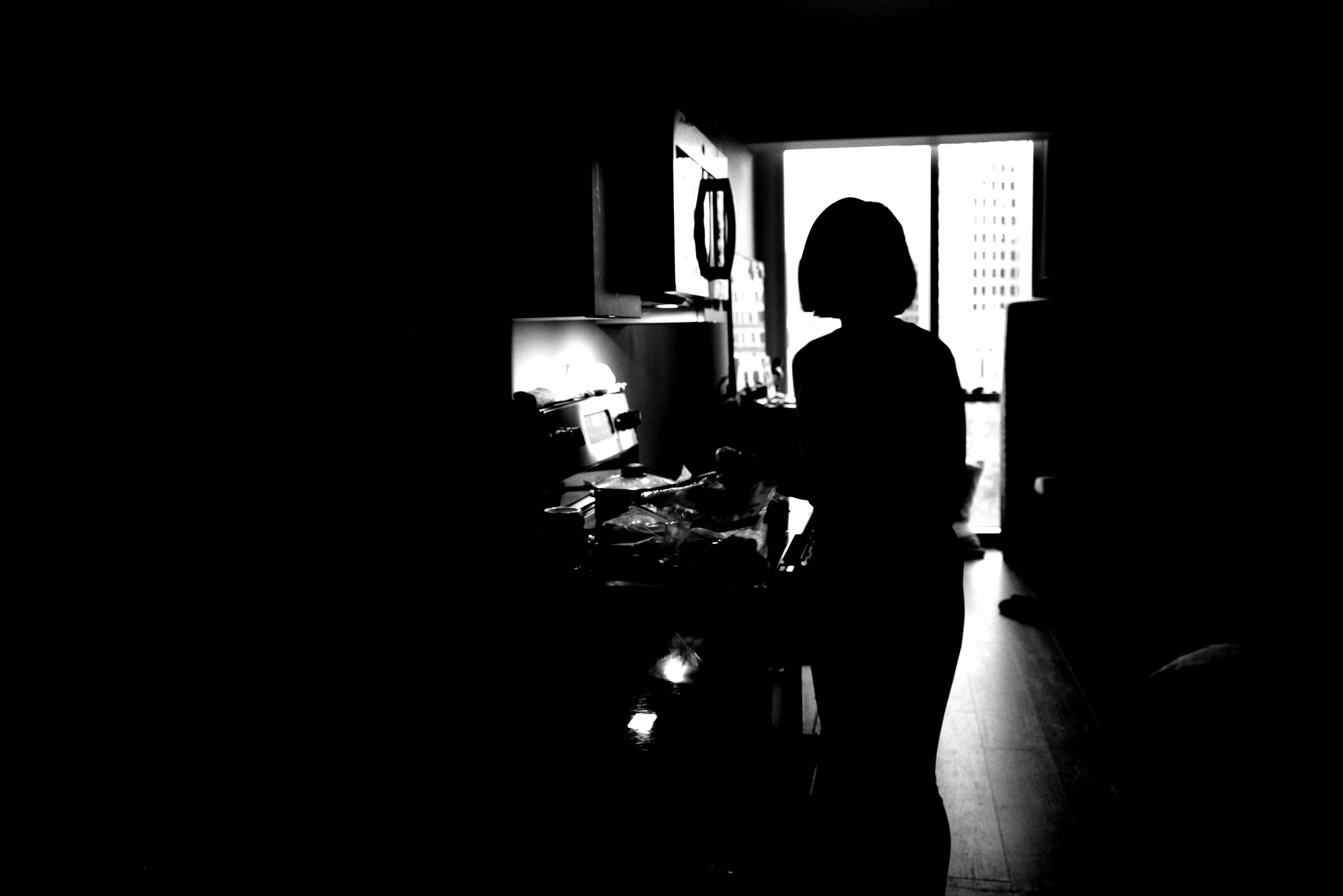 Cindy project black and white home