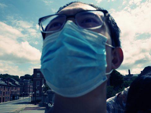 Selfie face mask