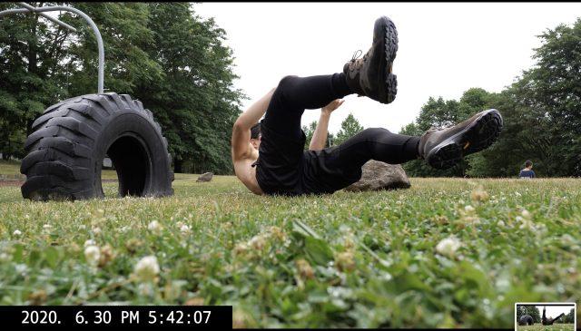 ERIC KIM falling over