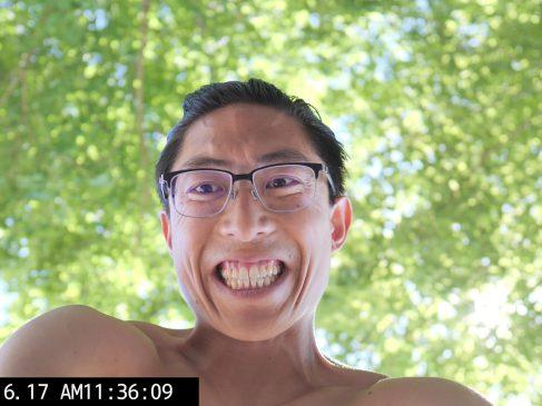 selfie park green ERIC KIM