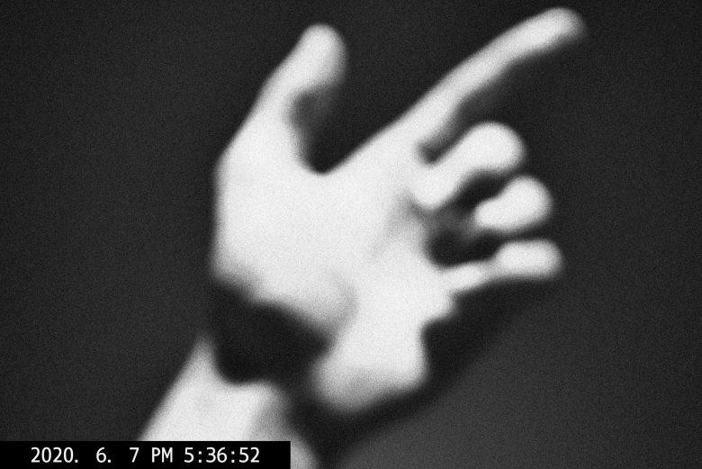 ERIC KIM hand blur