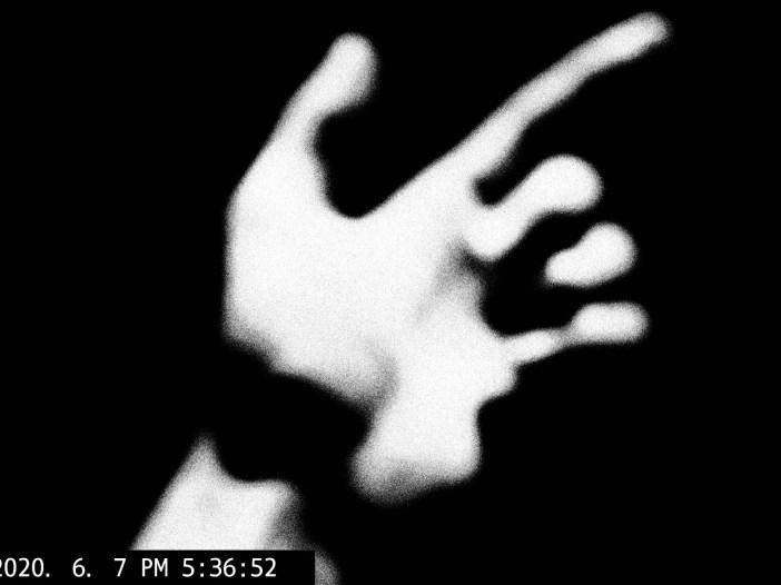 Hand selfie ERIC KIM
