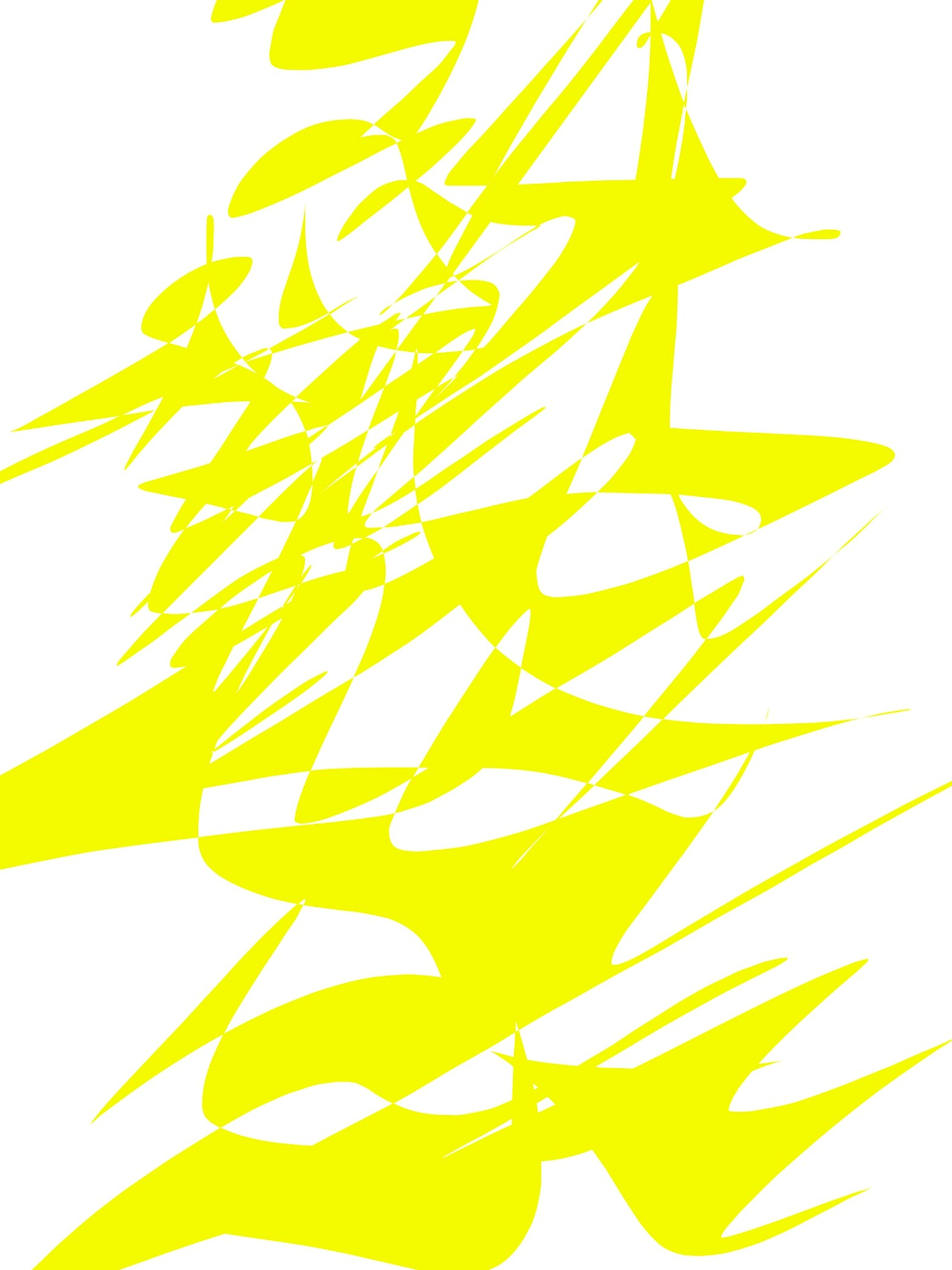 Yellow Abstract ERIC KIM
