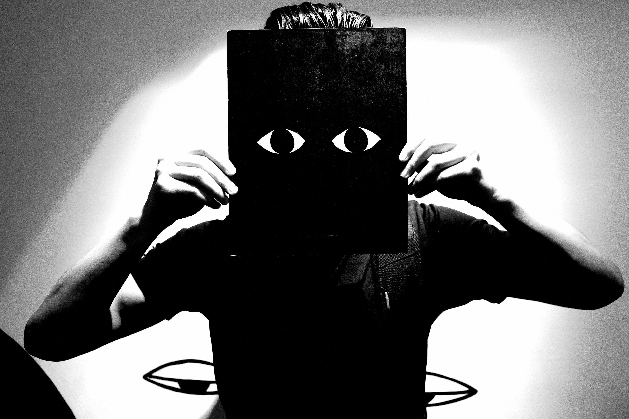 ERIC KIM eyes black surreal