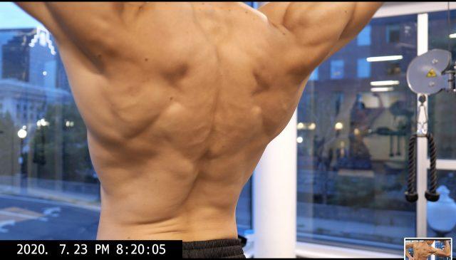 ERIC KIM back muscle