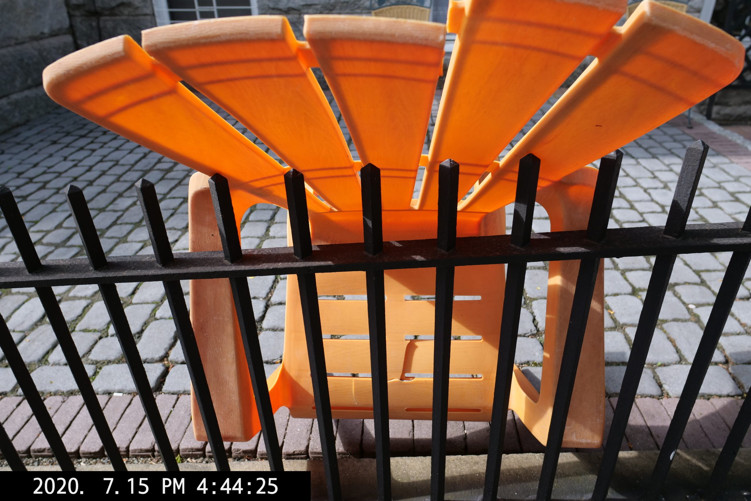 orange black abstract Lumix