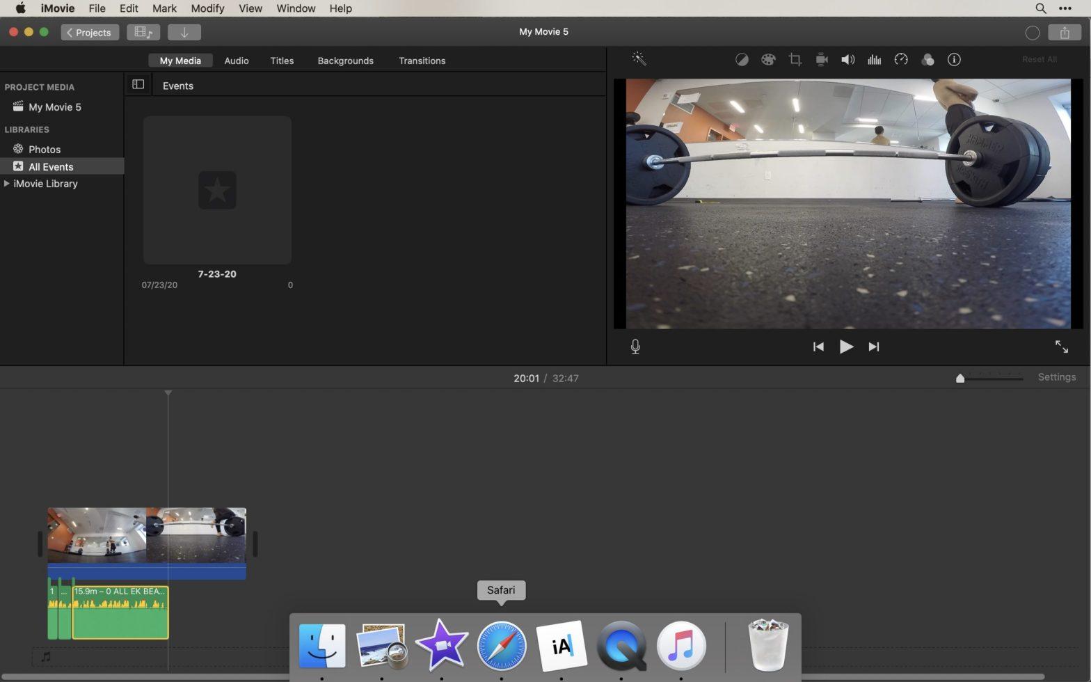 screenshot laptop garage band
