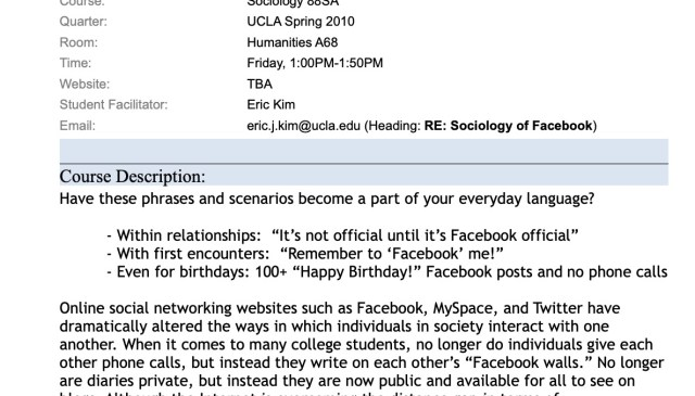 Sociology-of-Facebook-and-Online-Social-Networks-UCLA-ERIC-KIM-SYLLABUS-201000001