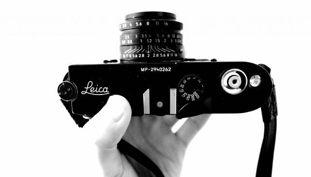 Leica film mp top plate