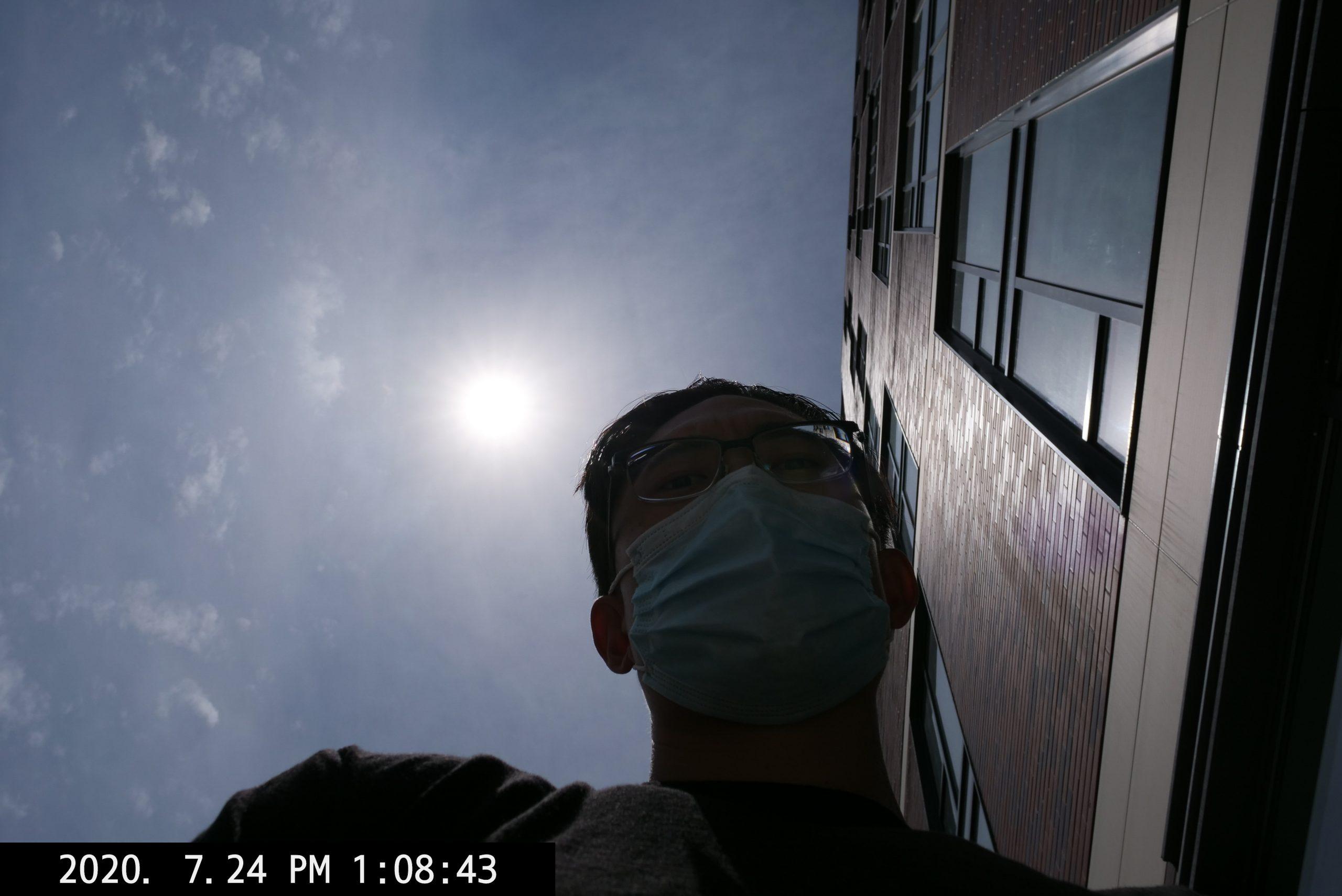 selfie ERIC KIM low angle providence lumix 2020-24