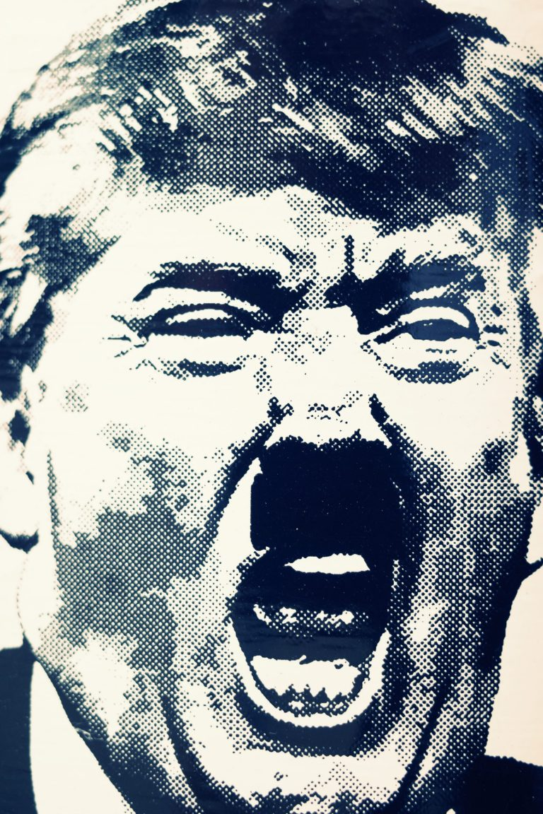 Donald Trump Hitler mustache