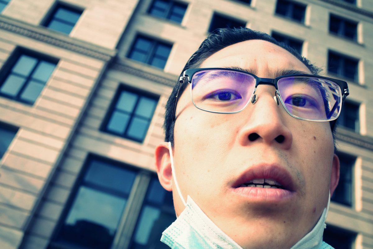 Selfie face mask ERIC KIM 4AA1AC0A-B6AA-445D-A36B-7B99E689CAB4