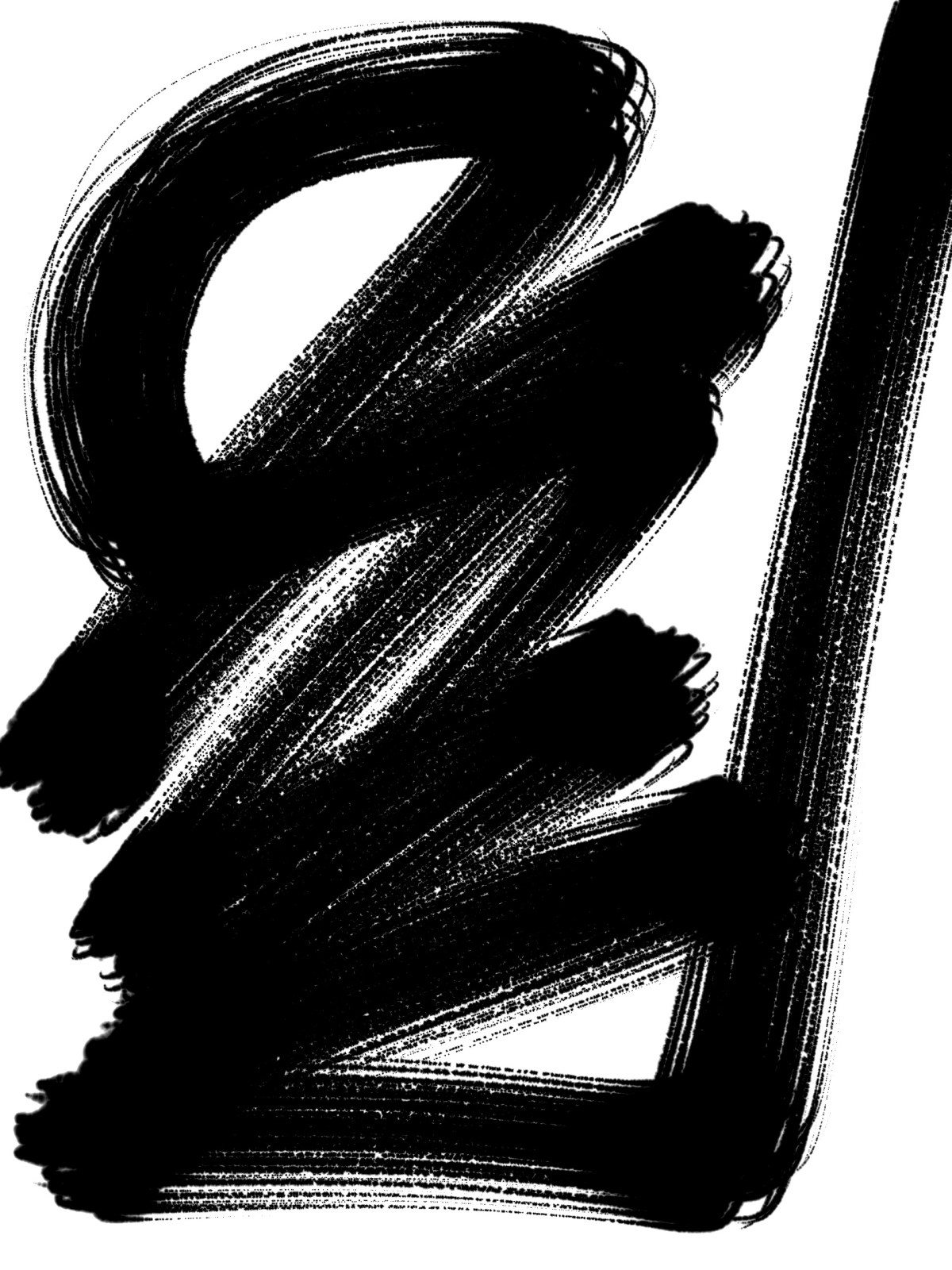 Convenience ERIC KIM abstract zen calligraphy
