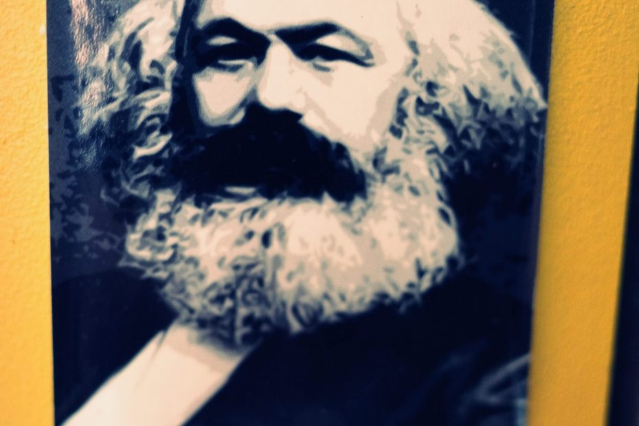 Karl Marx; typical degenerate (human hater)