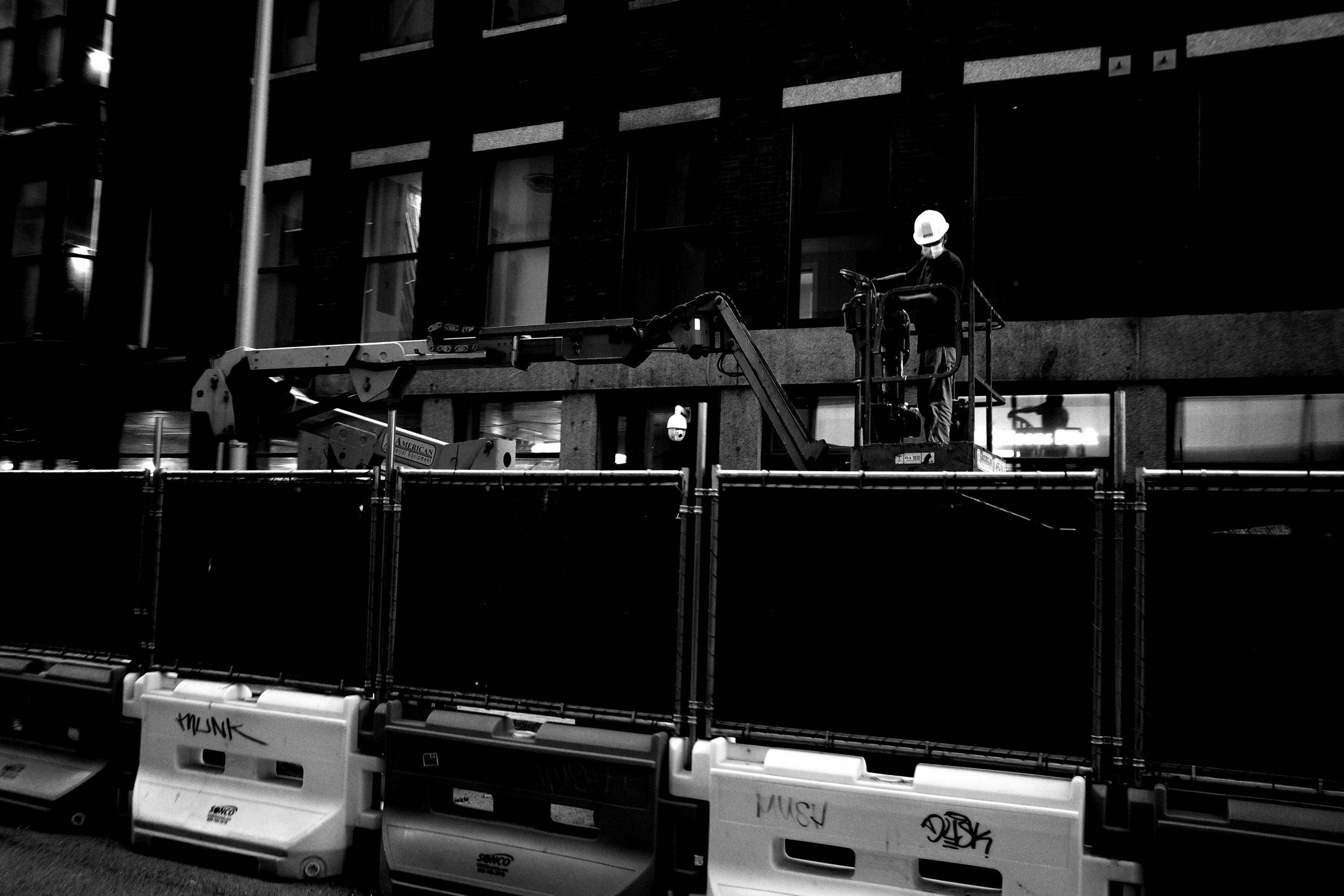 street black and white Eric Kim
