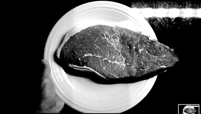 steak ERIC KIM hand