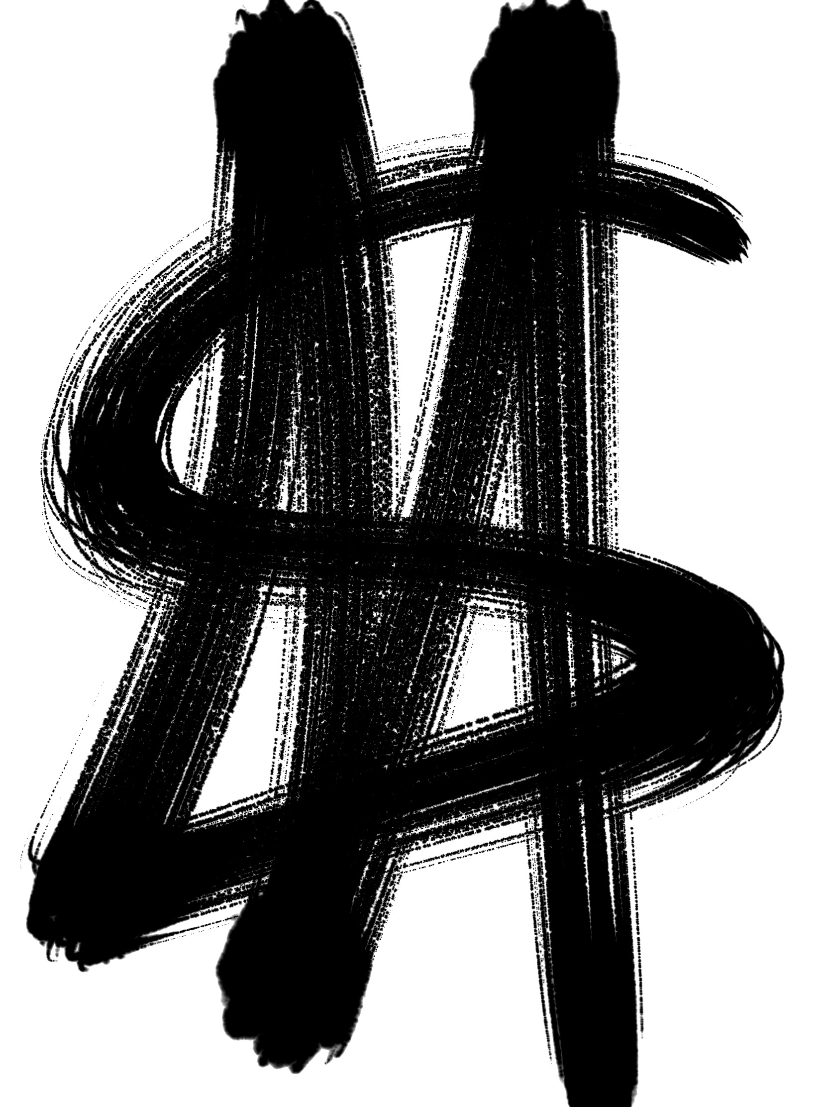 Money dollar sign abstract ERIC KIM