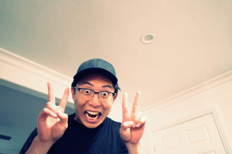 Selfie ERIC KIM peace