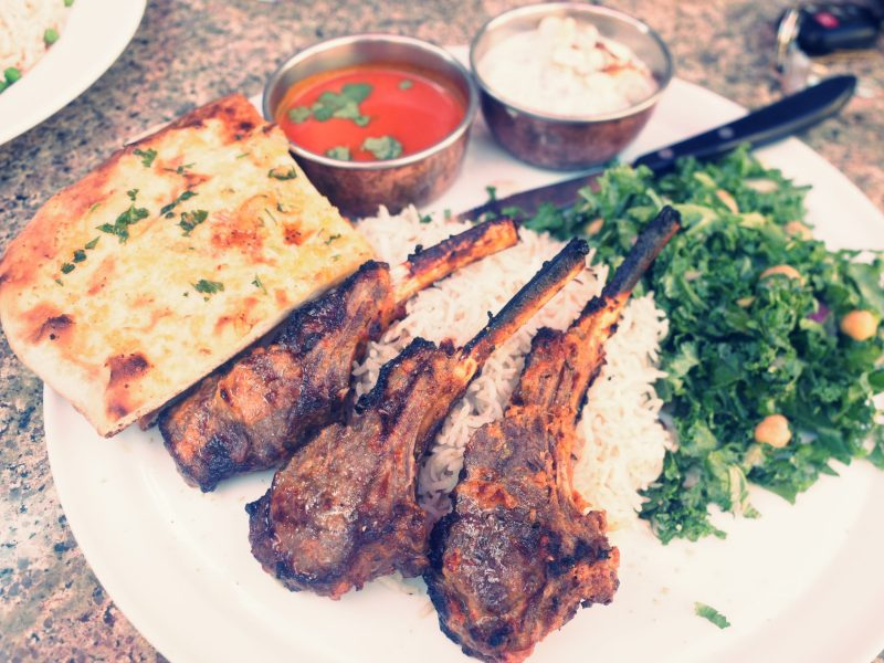 indian food lamb