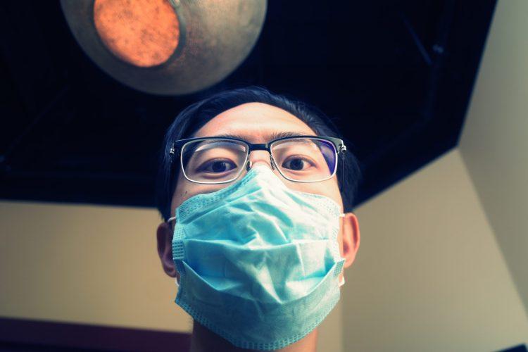 selfie ERIC KIM face mask