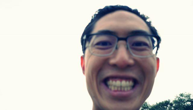 selfie smile ERIC KIM