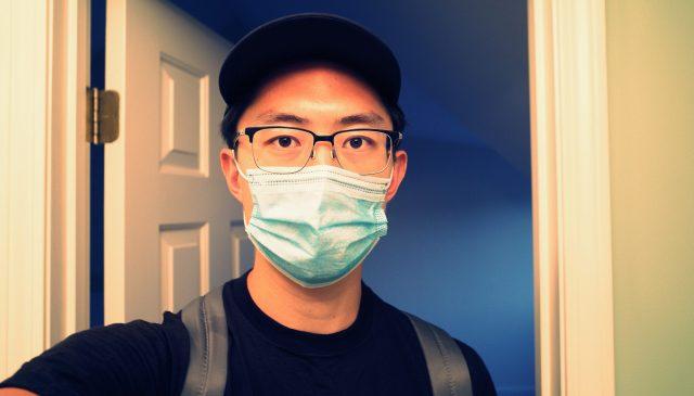 selfie face mask hat ERIC KIM