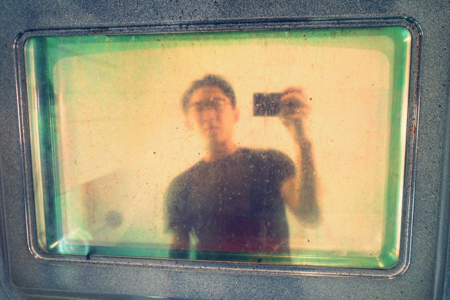 Selfie Ricoh oven pan ERIC KIM