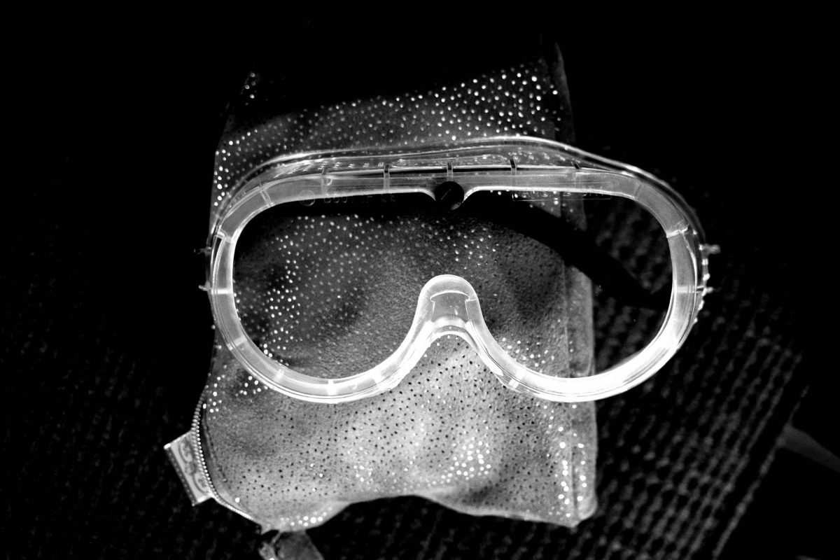 goggles face mask