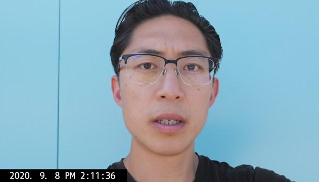 selfie blue ERIC KIM