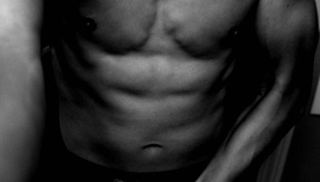 ERIC KIM muscle body front flex
