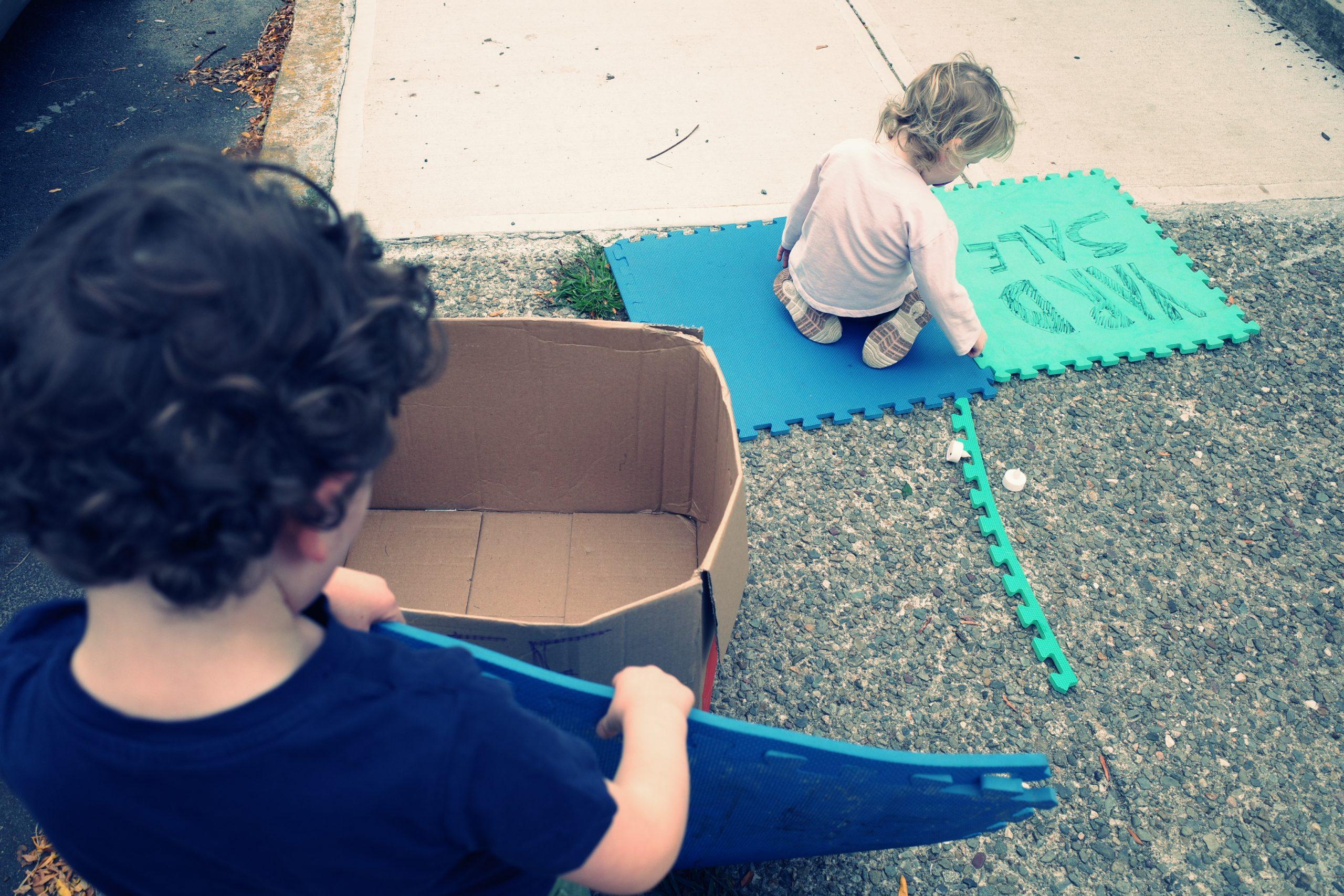 Kid street photography