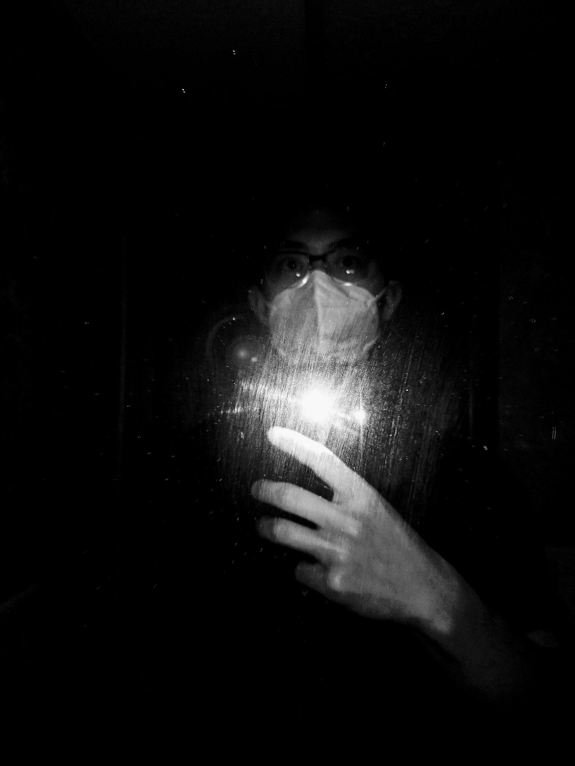 selfie black