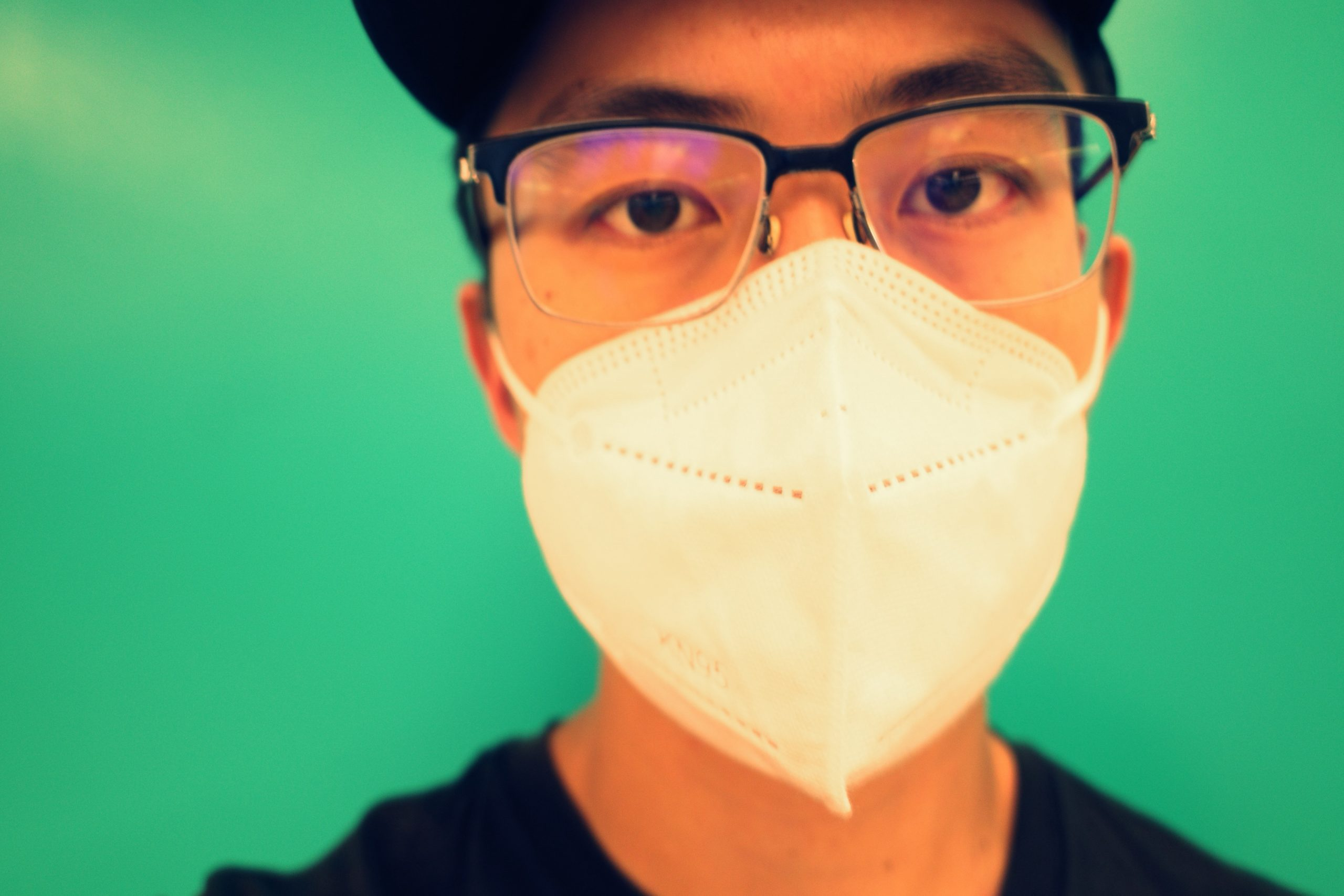 selfie green red ERIC KIM