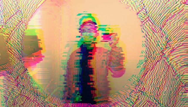 Selfie ERIC KIM glitch