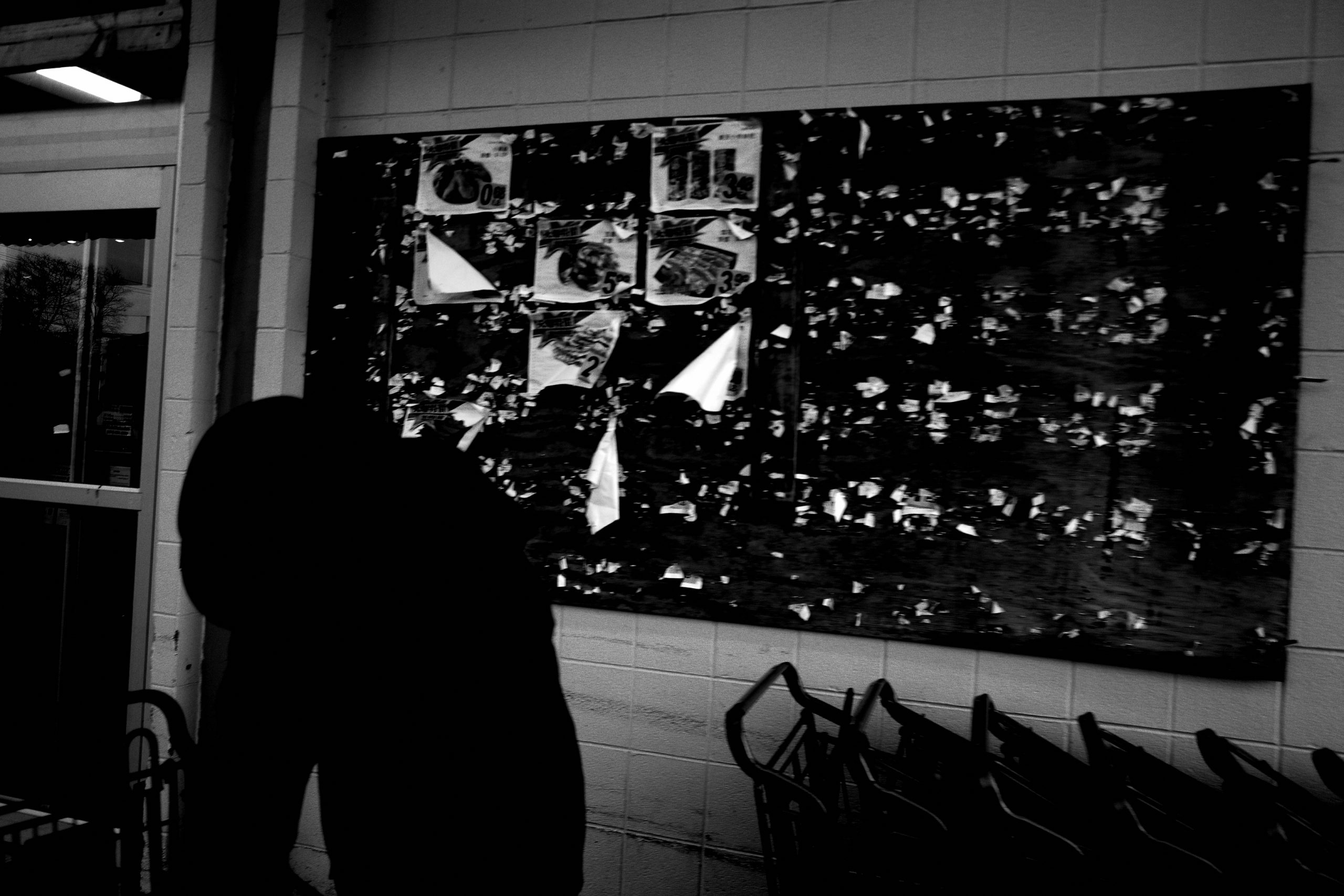 Grocery store street photography silhouette ERIC KIM