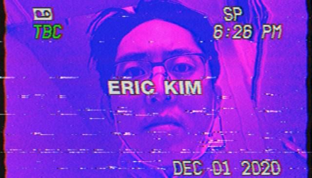 ERIC KIM selfie purple