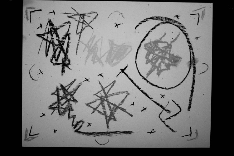 ERIC KIM abstract drawings