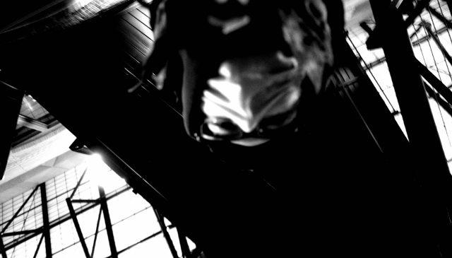 selfie black and white