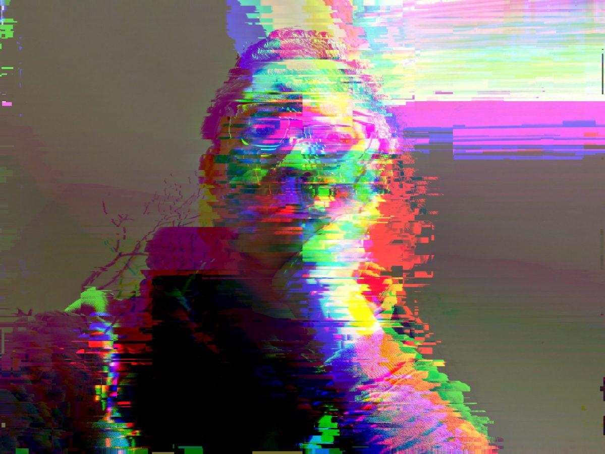 ERIC KIM selfie glitch