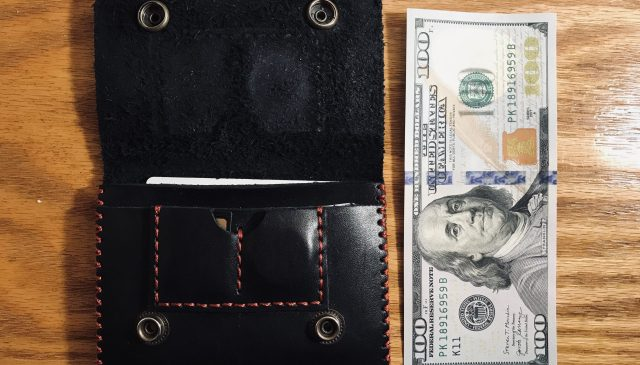 ERIC KIM wallet photographer's wallet proportions