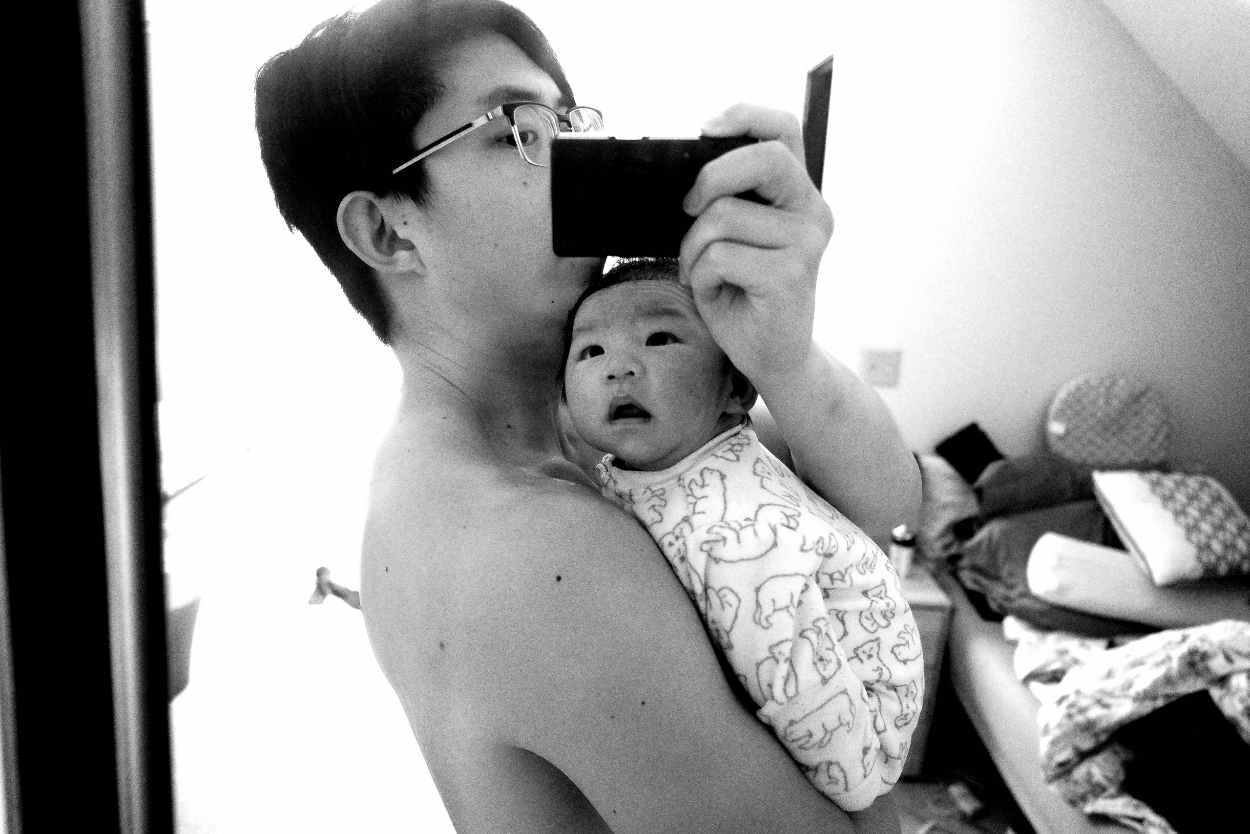 seneca and daddy
