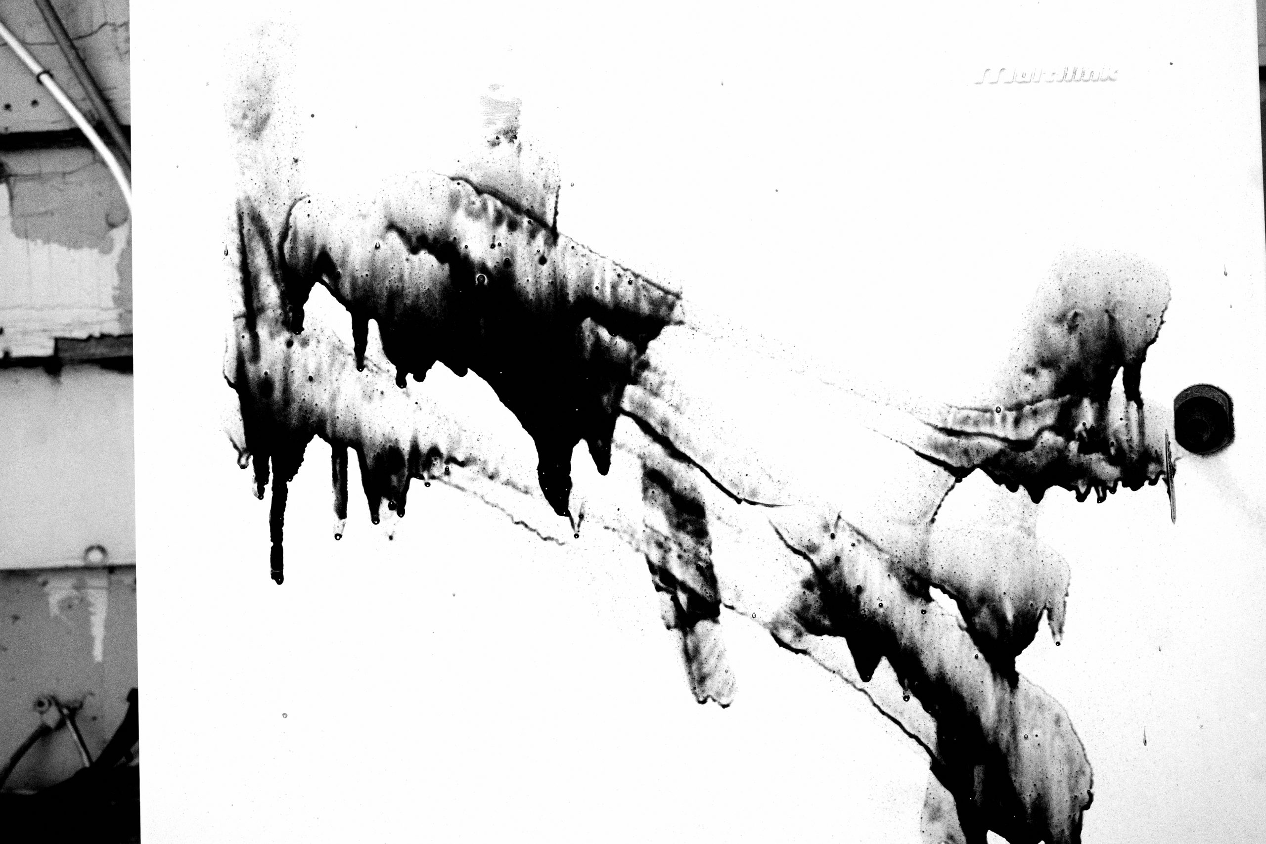white black abstract