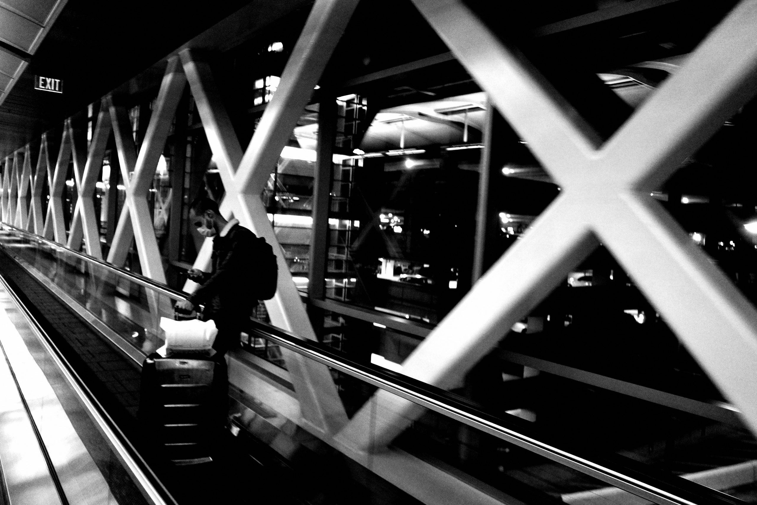 airport street photography