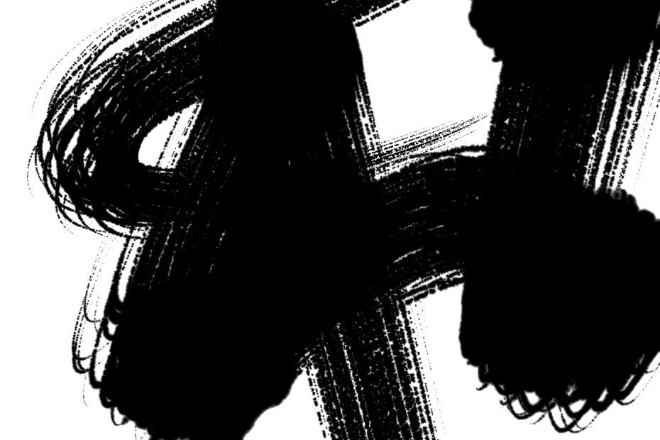 mental motivation abstract calligraphy zen brush