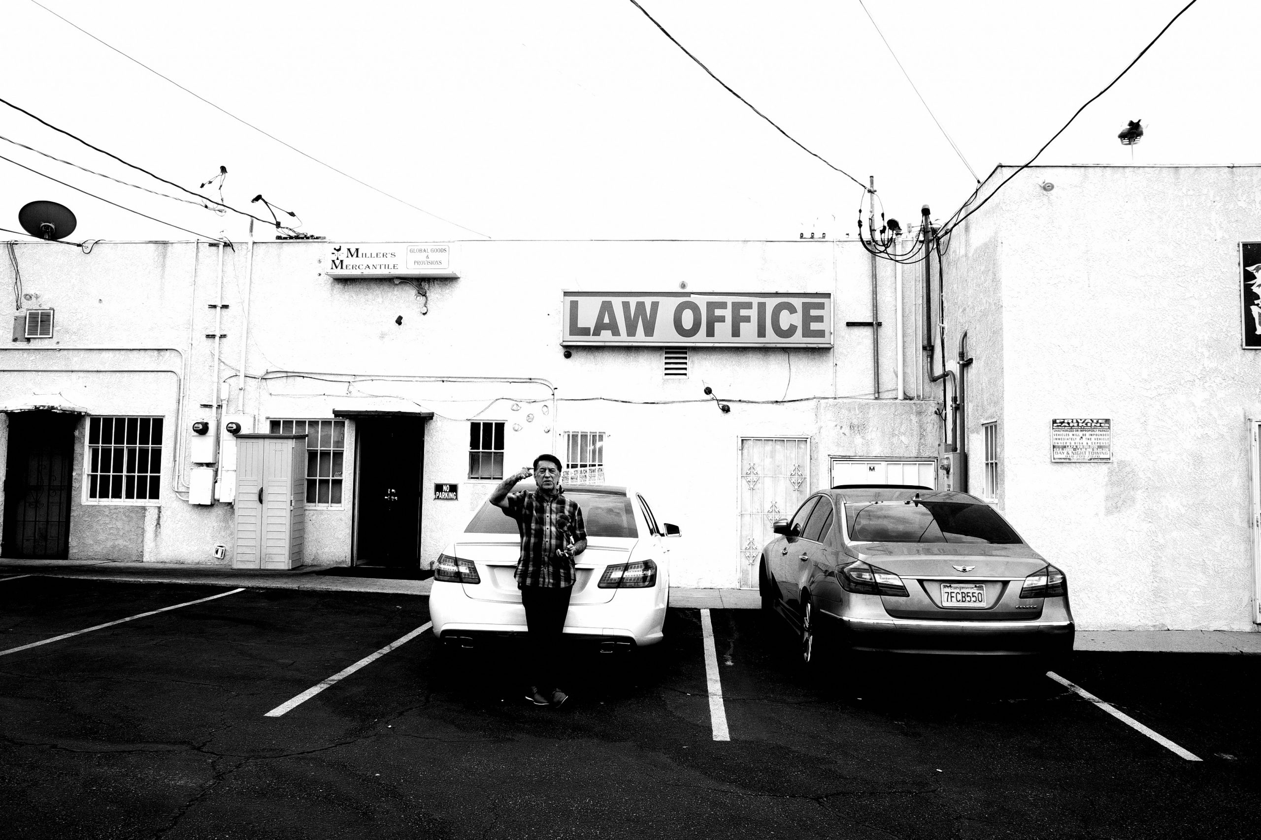 Los Angeles law office  street