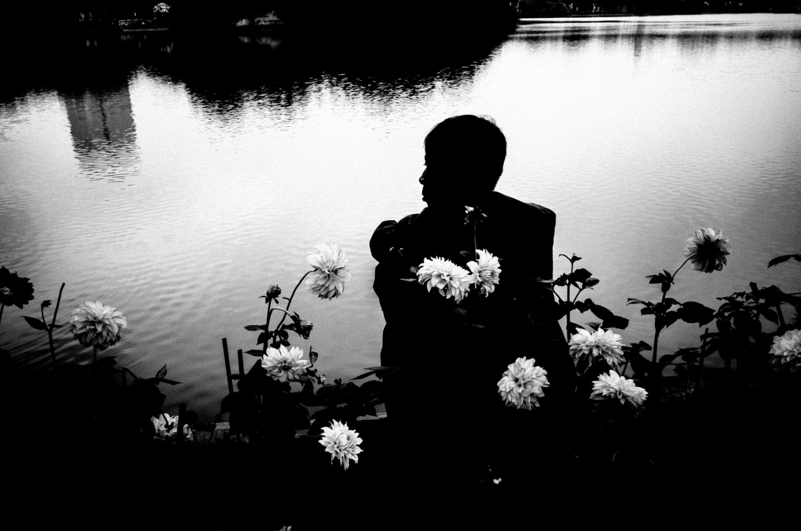 black and white Hanoi