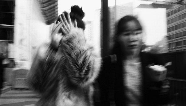 flash blur Seoul Korea ERIC KIM street photography