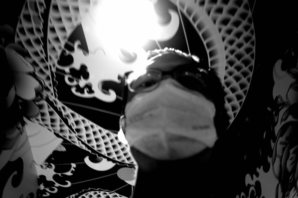 ERIC KIM selfie face mask