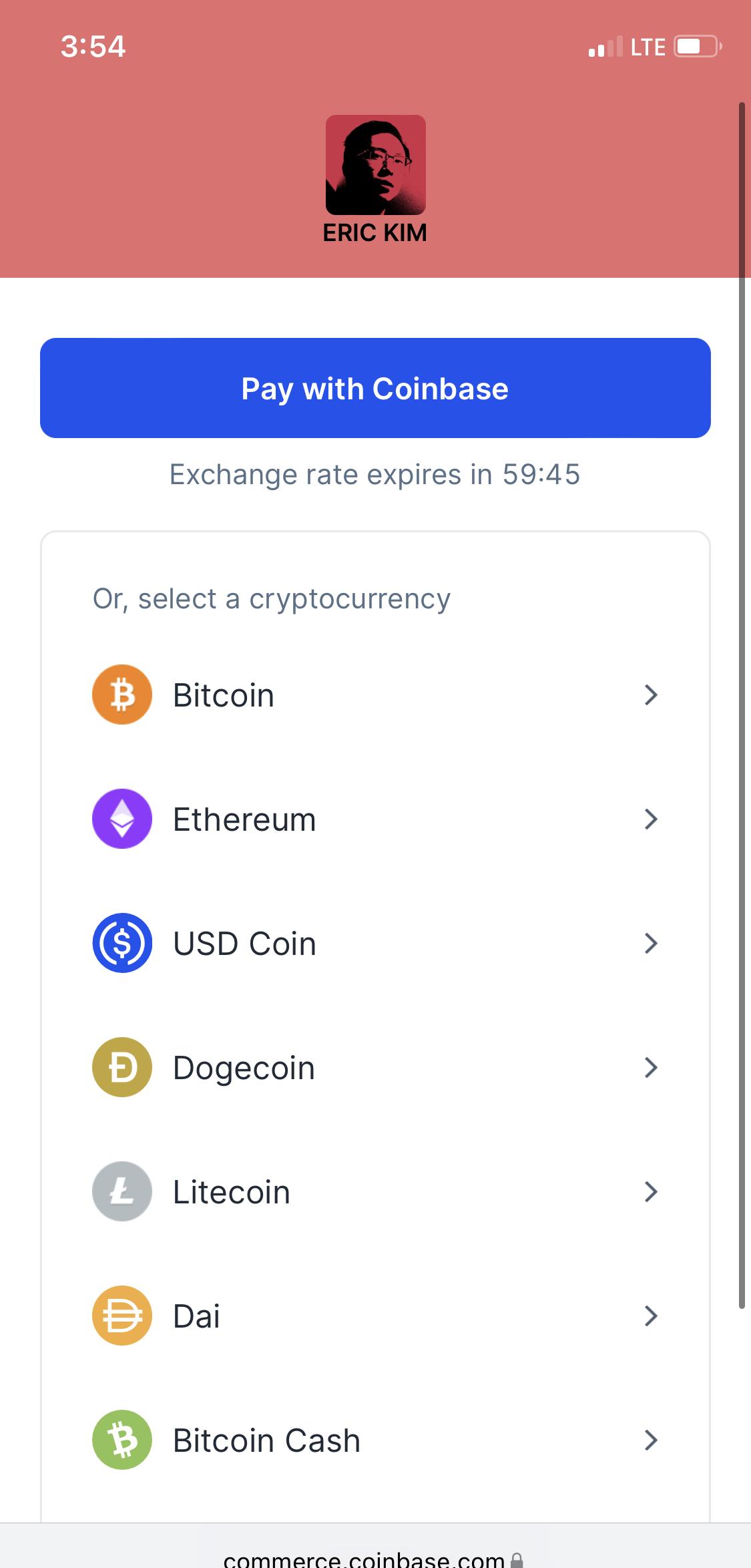 crypto bitcoin accepting